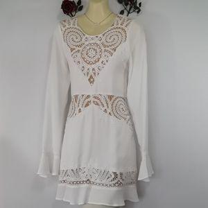 For Love &Lemons Embroidered  Festival  Dress Sm